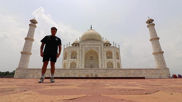 Индия, Тадж-Махал. Фото скриншот: instagram.com/simonjwils/