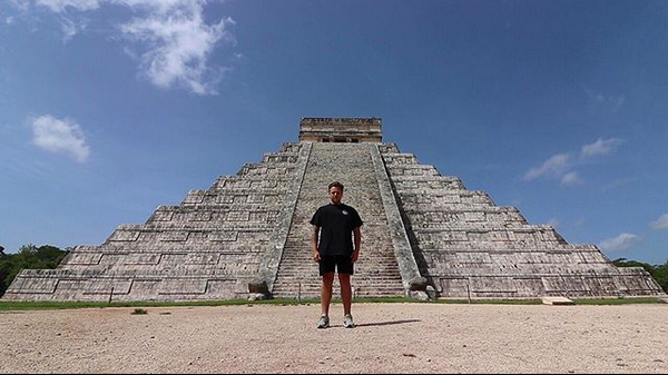 Мексика, древний город майя Чичен-Ица. Фото скриншот: instagram.com/simonjwils/