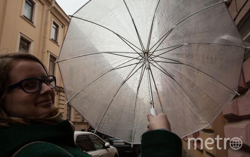 """Зонты в Петербурге - необходимый атрибут. Фото Святослав Акимов, """"Metro"""""""