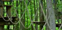 Небезопасный веревочный парк в Петербурге выявила прокуратура