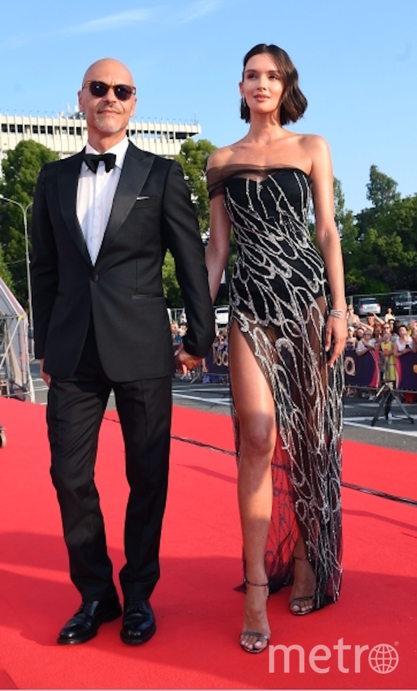 Фёдор Бондарчук и Паулина Андреева. Фото РИА Новости