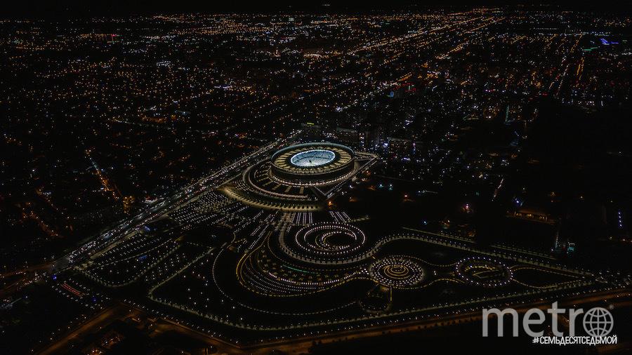 Стадион «Краснодара» называют одним из самых красивых в России. Фото Телеграм-канал #СемьдесятСедьмой