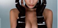 Без белья и с ошейником: Белла Хадид представила экстремальный образ