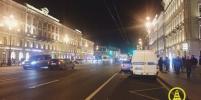 Появилось видео, как сбили женщину-пешехода на Невском проспекте