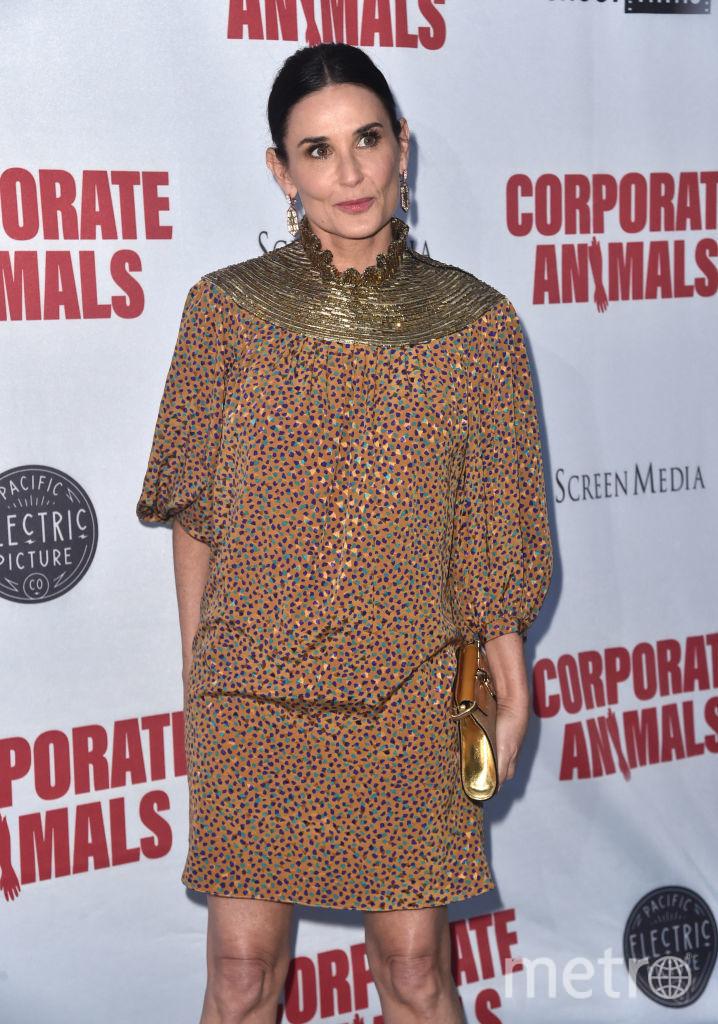 """Деми Мур на премьере """"Corporate Animals"""". Фото Getty"""