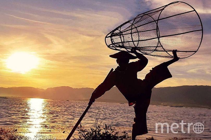 """Финалисты премии """"Лучшее фото Instagram"""". Танцующий рыбак. Фото Instagram.com/lilitraveltheworld; https://www.mirror.co.uk, """"Metro"""""""
