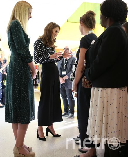 Кейт Миддлтон посетила детский центр в Лондоне. Фото Getty
