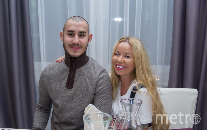 """Максим с женой. Фото предоставила Елизавета Апушкина, """"Metro"""""""