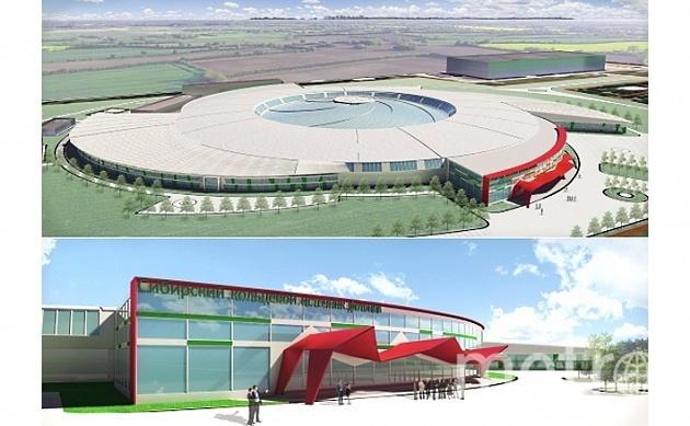 Ускоритель с экспериментальными станциями и лабораториями разместят в здании диаметром 200 метров.