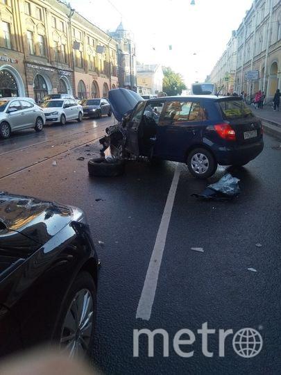 Водитель пытался скрыться от полицейских. Фото vk.com
