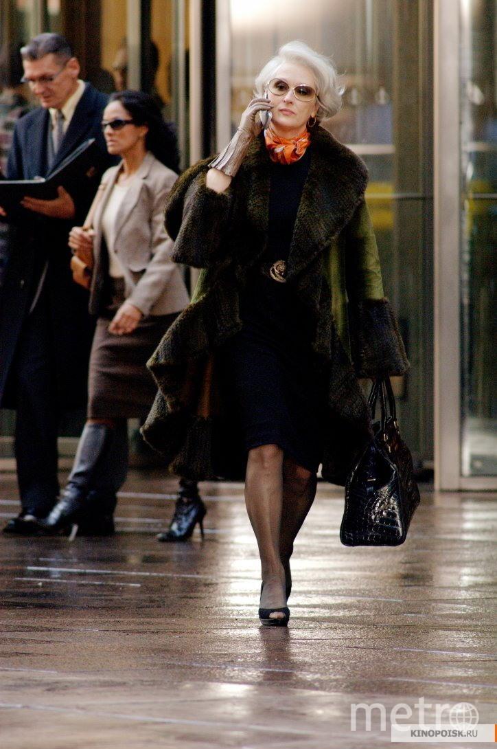 """Кадр из фильма """"Дьявол носит Prada"""". Фото """"Гемини Киномир"""", kinopoisk.ru"""
