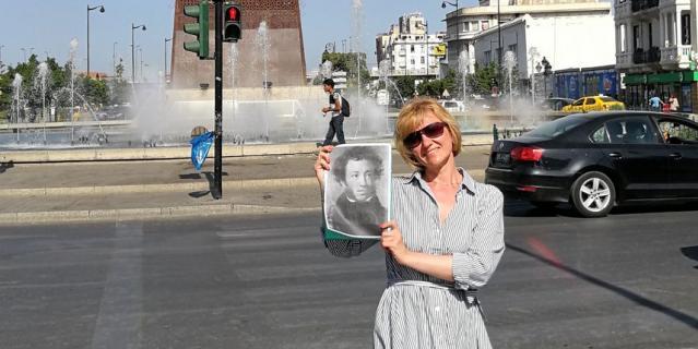 Елена показала Александру Сергеевичу Тунис.