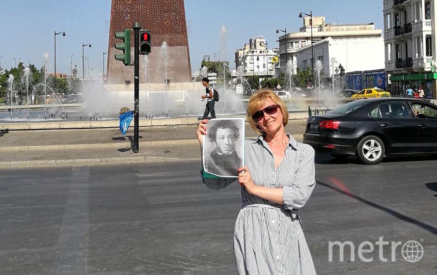"""Пушкин в Тунисе. Фото Елена Каранина, """"Metro"""""""