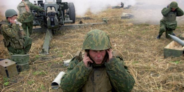 Бой с боевиками в пригороде Гудермеса. Группировка Федеральных сил на Северном Кавказе.