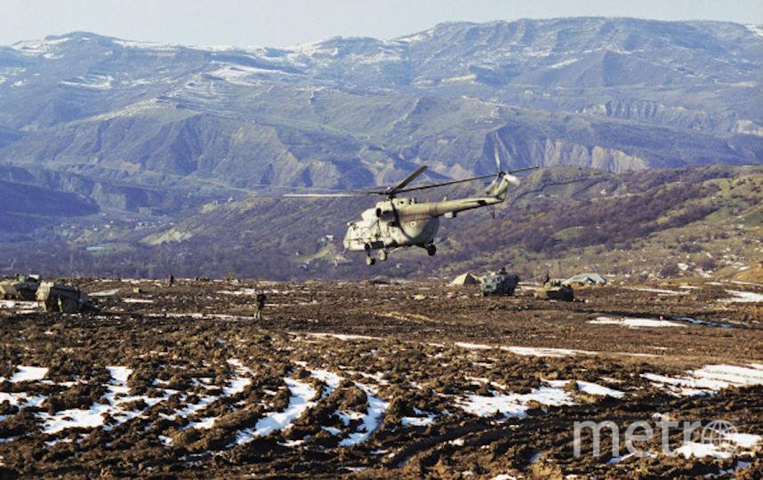 Боевые действия на территории Чеченской Республики, 2000 год. Фото РИА Новости
