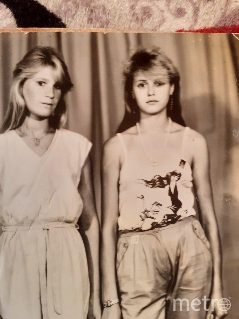 """Марина Плотникова (слева) с одной из подруг. Фото предоставила Наталья Хоцевич (сестра Марины), """"Metro"""""""