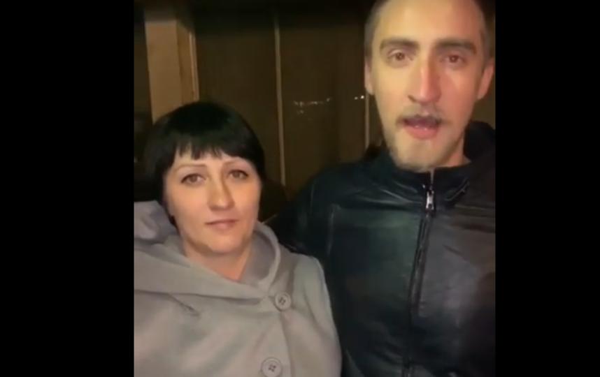 Павел Устинов с сестрой Юлией. Фото Скриншот Youtube