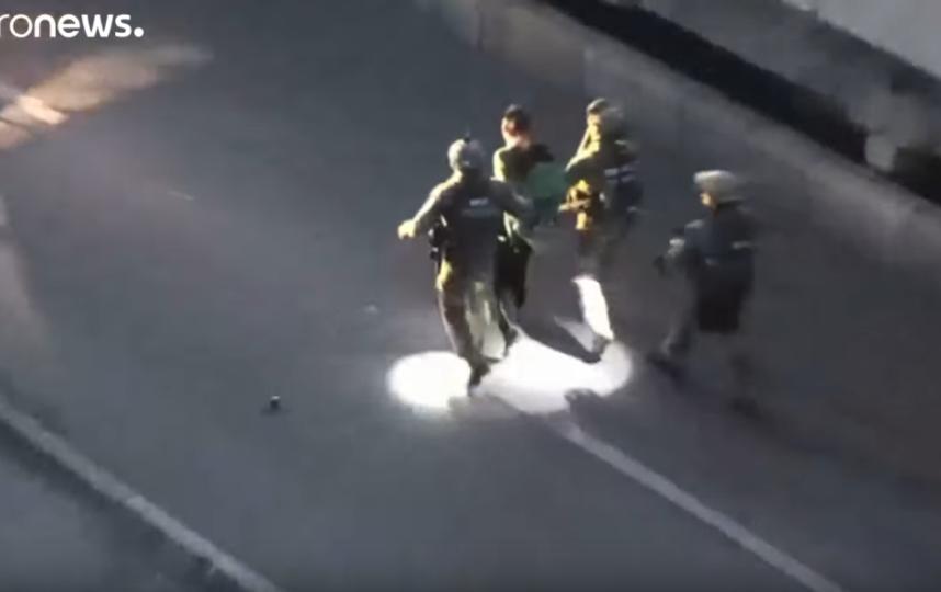 Задержание Алексея Белько. Фото Скриншот Youtube