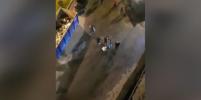 Массовая драка представителей двух диаспор в Петербурге попала на видео