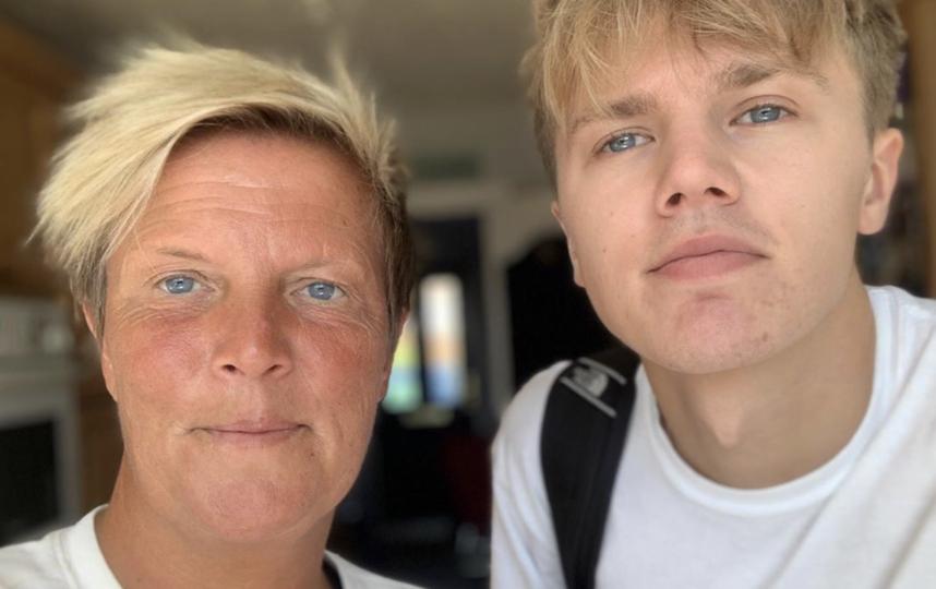 "Наташа Орчард-Смит с сыном Джорджем. Фото Instagram Orchiesmiffy, ""Metro"""
