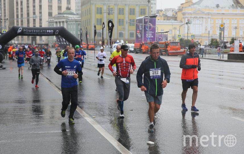 В столице прошёл седьмой Московский марафон. Фото Василий Кузьмичёнок
