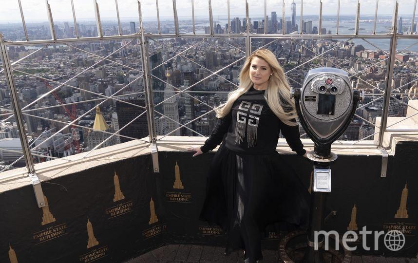 Меган Трэйнор выступила перед многочисленными фанатами сериала. Фото Cortesia