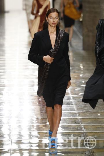 Ирина Шейк на миланской Неделе моды, фотоархив. Фото Getty