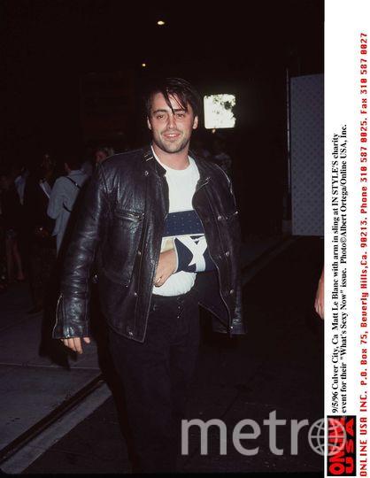 Мэтт Леблан, 1996 год. Фото Getty