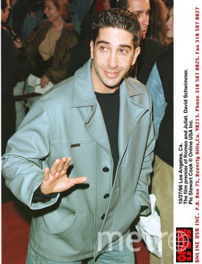 Дэвид Швиммер, 1996 год. Фото Getty