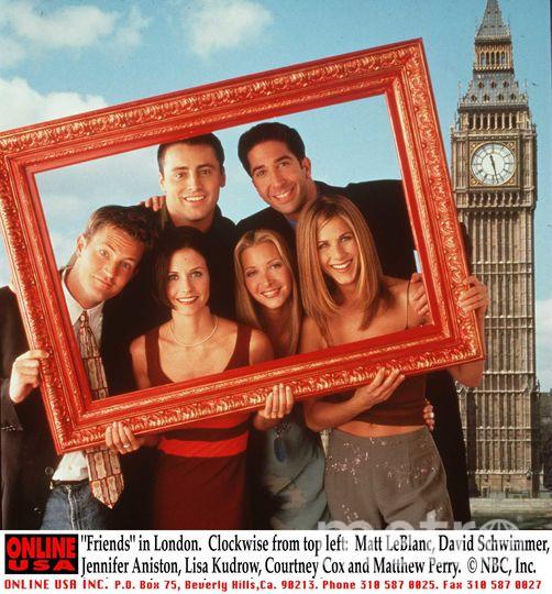 "Актёрский состав ""Друзей"", 1998 год. Фото Getty"