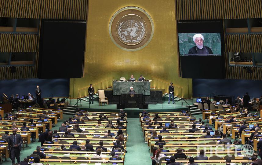 74-я сессия Генеральной Ассамблеи ООН, которая продлится до 17 сентября следующего года, открывается во вторник в Нью-Йорке. Фото Getty