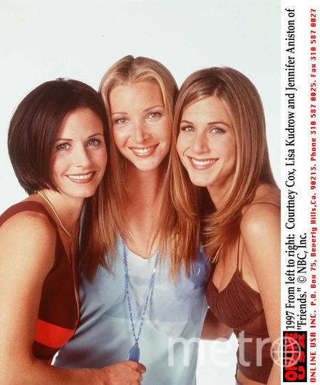 Кортни Кокс, Лиза Кудроу и Дженнифер Энистон, 1997 год. Фото Getty