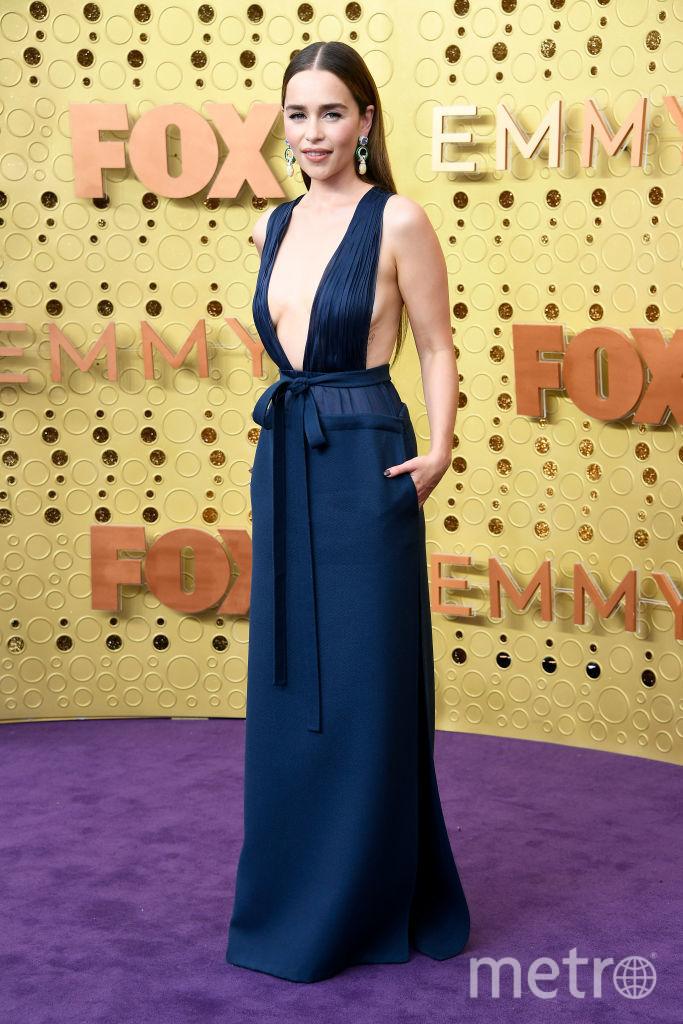 71st Emmy Awards. Эмилия Кларк. Фото Getty