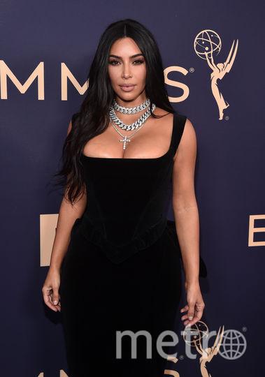 71st Emmy Awards. Ким Кардашьян. Фото Getty