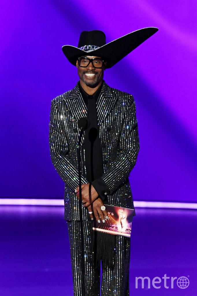 71st Emmy Awards. Шоу. Билли Портер. Фото Getty