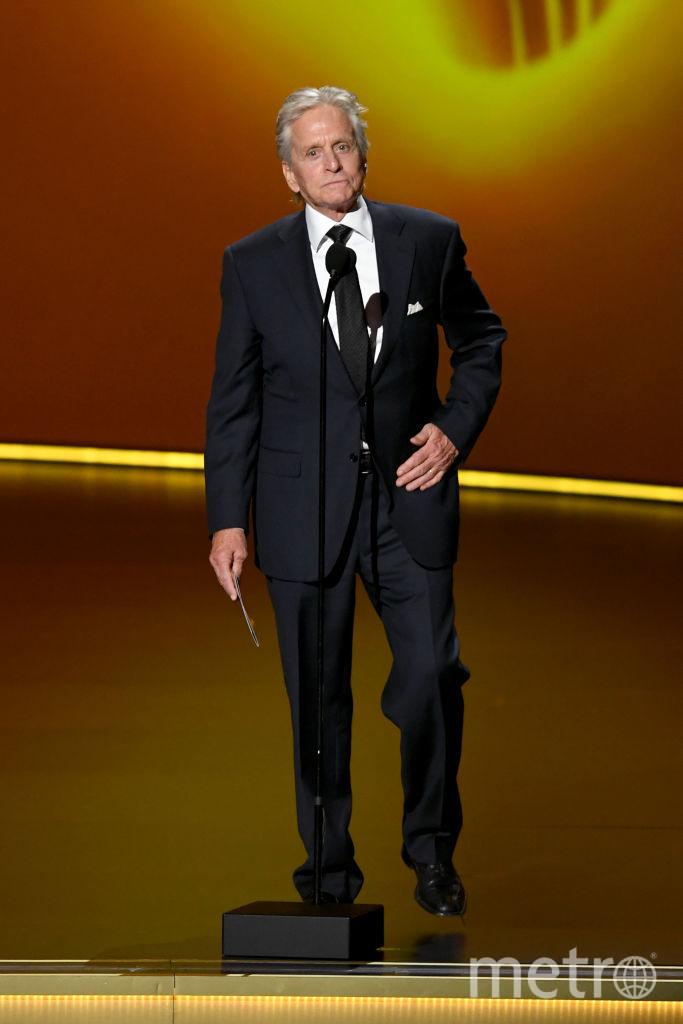 71st Emmy Awards. Шоу. Майкл Дуглас. Фото Getty