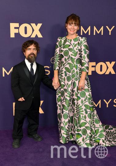 Питер Динклэйдж с женой Эрикой Шмидт. Фото Getty