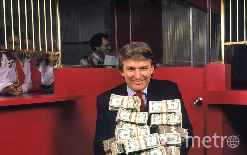 """""""Дональд Трамп в отеле-казино Taj Mahal в Атлантик-Сити"""". 1990. Фото Предоставлено организаторами"""