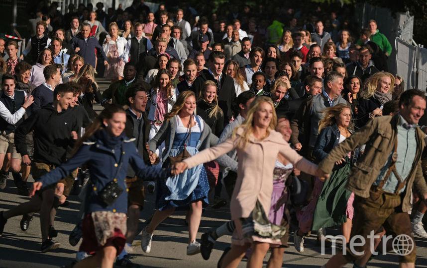 """""""Октоберфест-2019"""" начался. Фото Getty"""