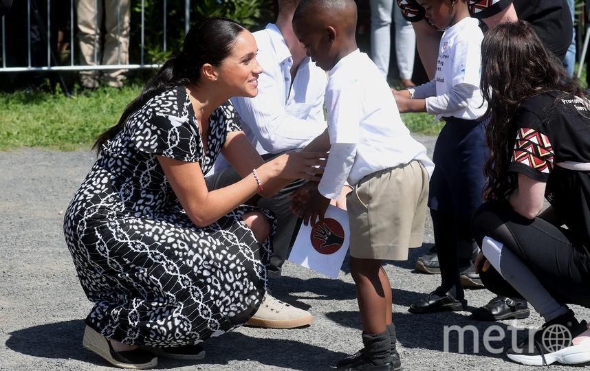 Официальный визит Меган Маркл и принца Гарри в Южную Африку. Фото Getty