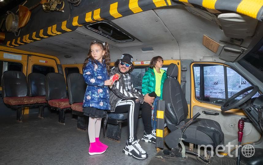 Филипп Киркоров с детьми. Фото Предоставлено организаторами