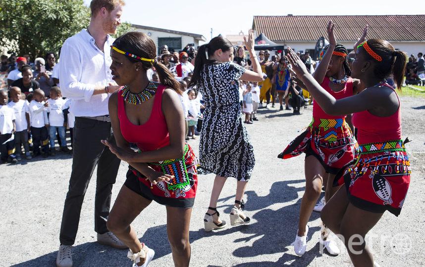 Визит Меган Маркл и принца Гарри в Южную Африку. Фото Getty