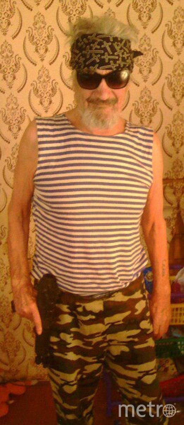"""Я тебе не дедушка, я – Рэмбо"". Фото Вячеслав (72 года), ""Metro"""