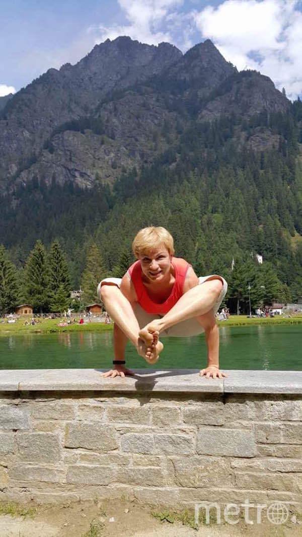 """""""Я тебе не бабушка, я – путеводитель в мире йоги"""". Фото Наталья Дворцова (55+ лет), """"Metro"""""""