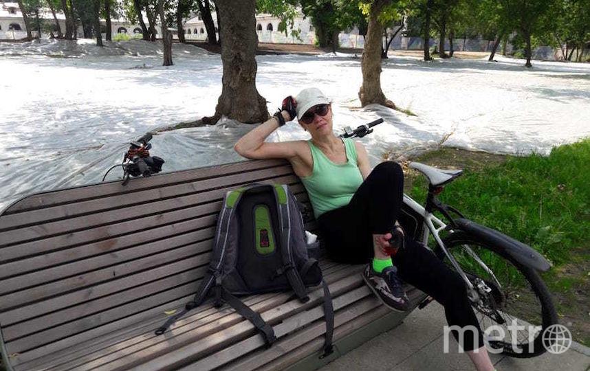 """Я тебе не бабушка, я – велоледи"". Фото Марина Басманова, ""Metro"""