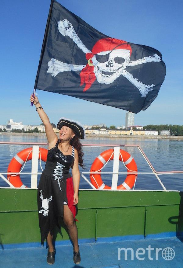 "Я тебе не бабушка, я – пиратка"". Фото Наталья Михайлова (60 лет), ""Metro"""