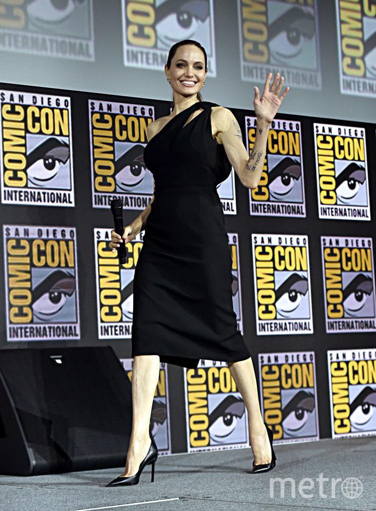 Джоли в июле 2019. Фото Getty