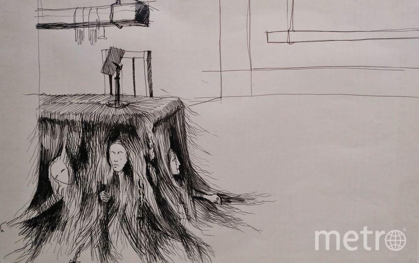 "Экспонаты выставки памяти Эймунтаса Някрошюса. Фото Алена Бобрович, ""Metro"""