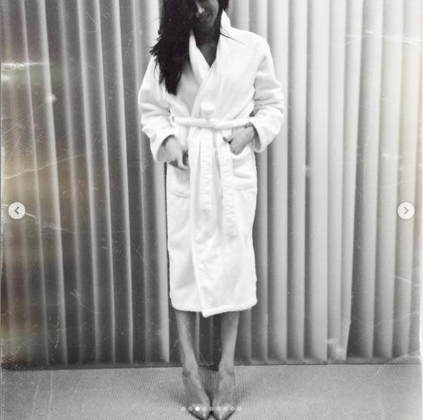 Меган Маркл на съёмках сериала. Фото instagram.com/halfadams/