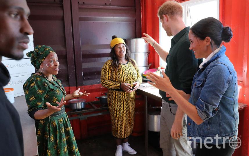 Во второй день визита в Южную Африку. Фото Getty